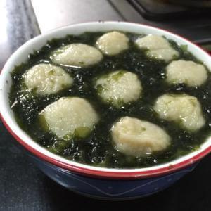 木耳鱼丸汤
