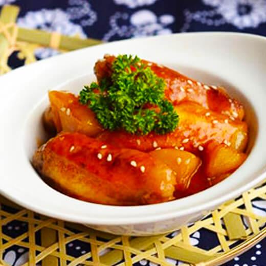 可乐菠萝汁鸡翅