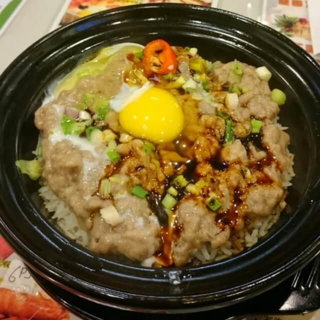 牛肉双菇煲饭的做法