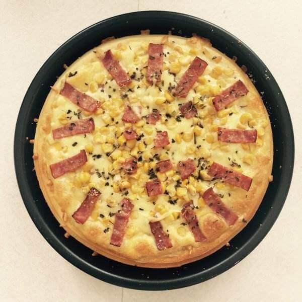 培根脆底披萨
