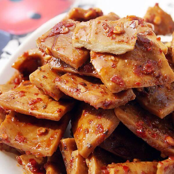 卤汁油豆腐干