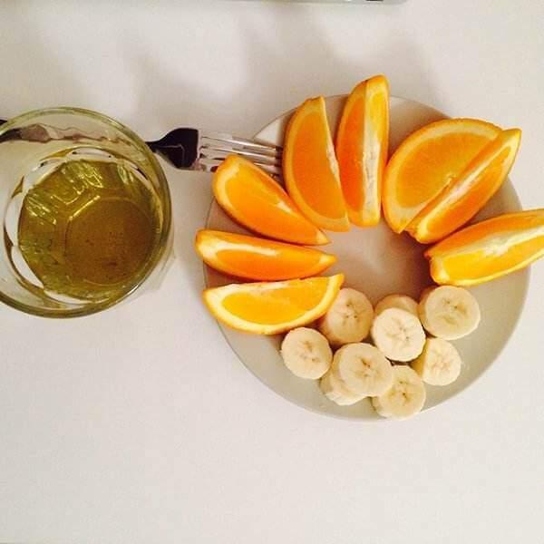苹果香蕉菊花茶