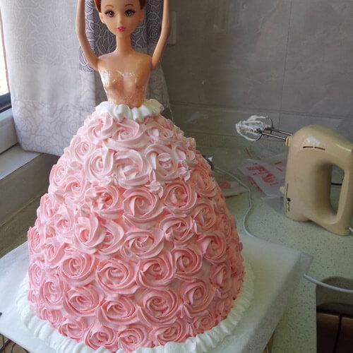 新年芭比娃娃蛋糕