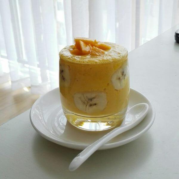 酸奶木瓜饮