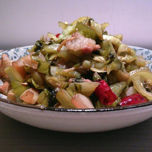 简单菜-酸味生菜