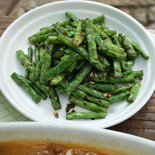 美味的干菜刀豆