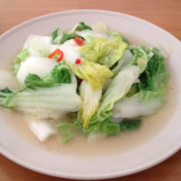 凤尾菇炒白菜