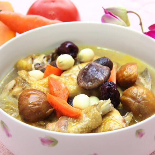 墨鱼香菇鸡汤