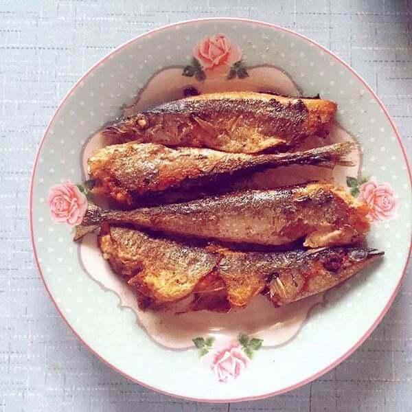 辣酱秋刀鱼