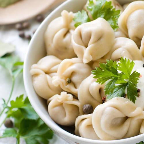 #爱美食#蒜苔肉饺子