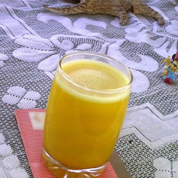 白菜柑橘饮