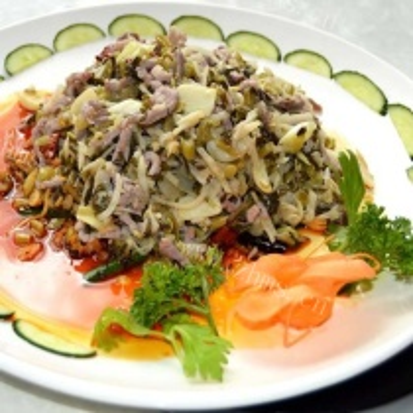 东北酸菜炒肉丝