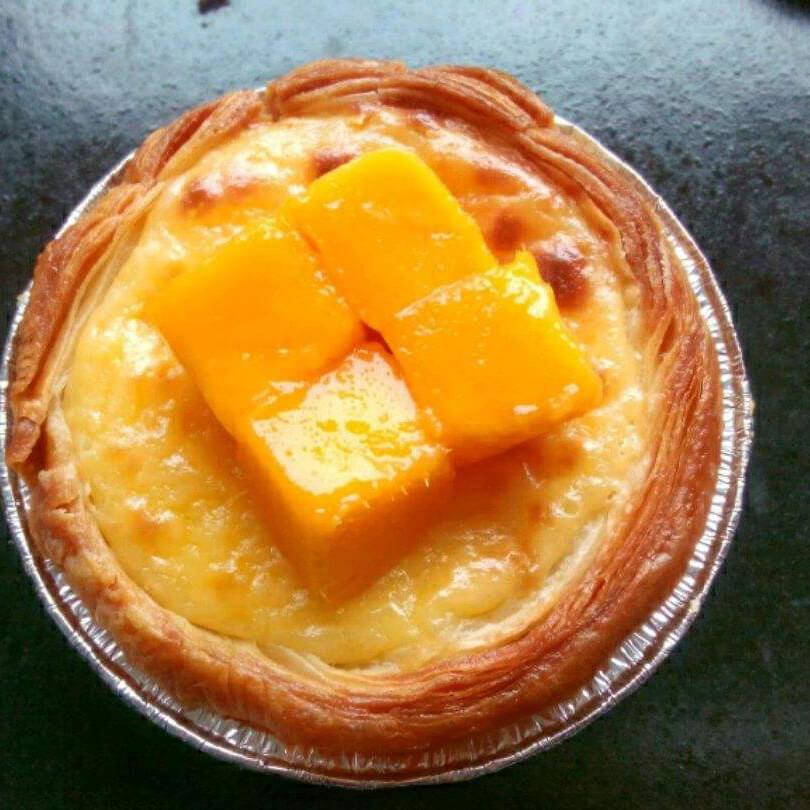 十分诱人的芒果蛋挞
