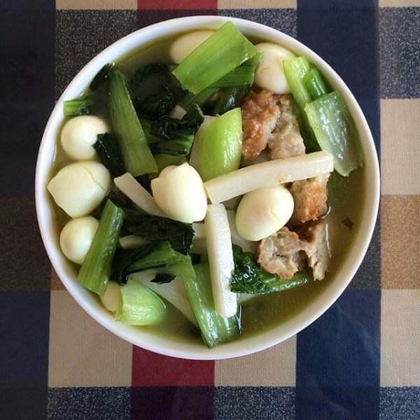 木瓜排骨年糕汤