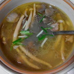 三鲜菌菇汤