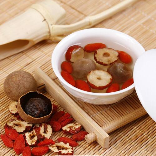 玫瑰红枣桂圆茶
