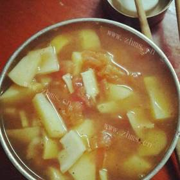 盐水鹅双笋汤