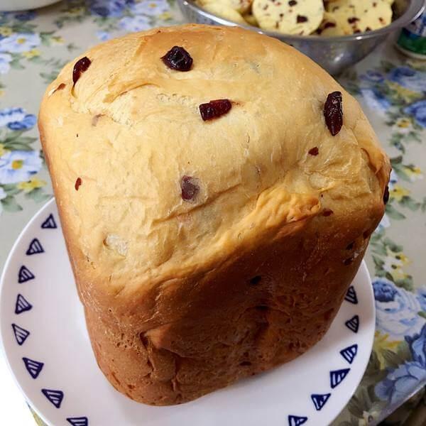 自己做的中种土司面包