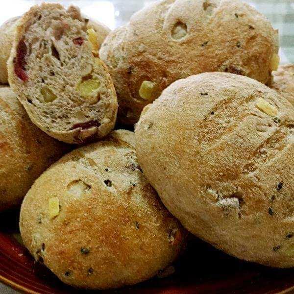 墨西哥果干面包