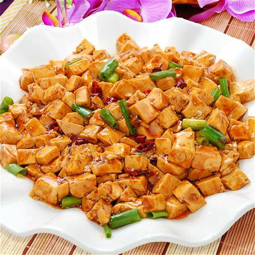 炝卤老豆腐