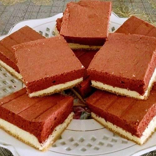 红丝绒方砖