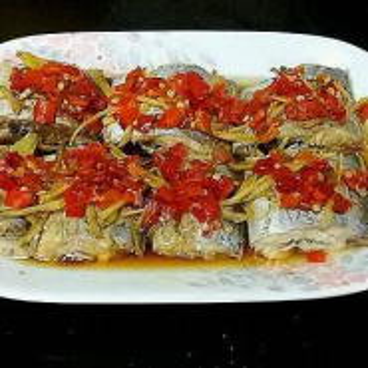 南瓜蒸带鱼