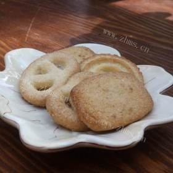 咖啡奶泡饼干