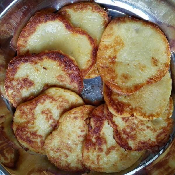 芝麻香土豆饼