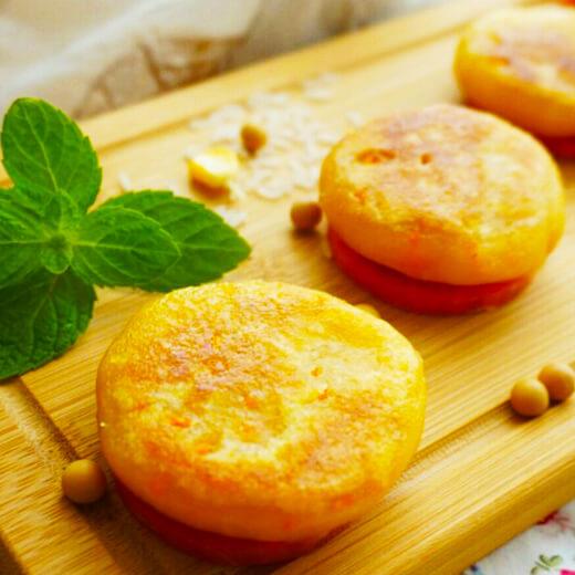 薄荷豆渣饼