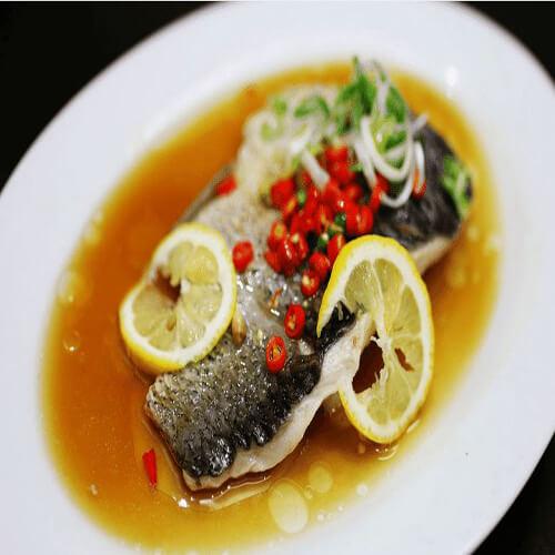 美味柠檬蒸鱼