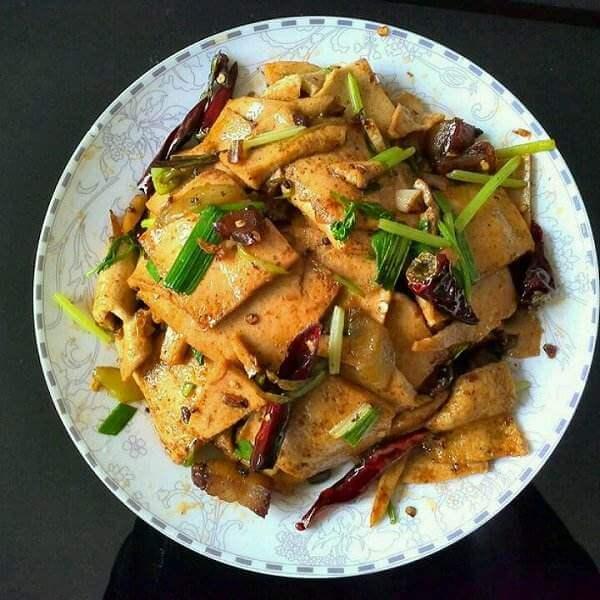 煎千页豆腐