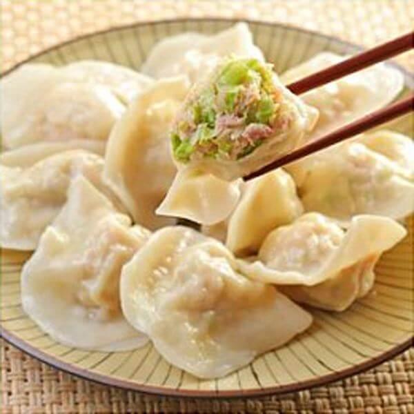 韩士韭菜猪肉水饺