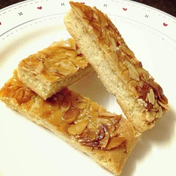焦糖杏仁脆饼