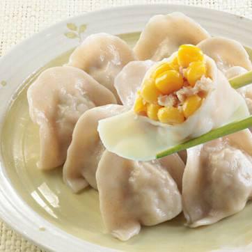 黄蛤猪肉水饺