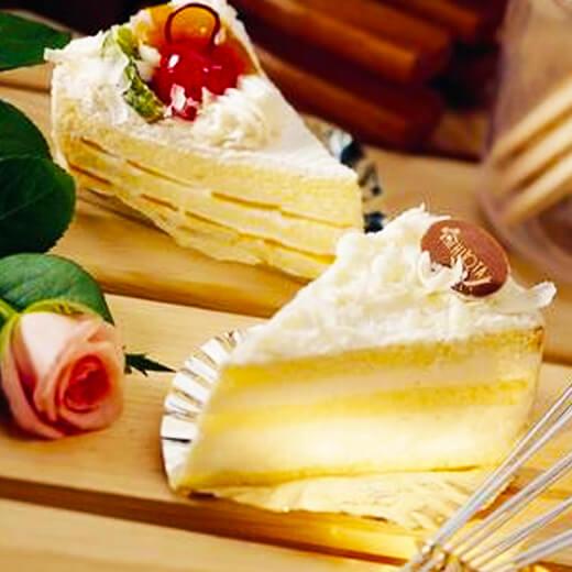白巧克力冰淇淋蛋糕