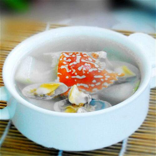 花蟹东瓜汤