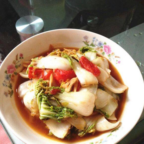 西红柿黄心菜