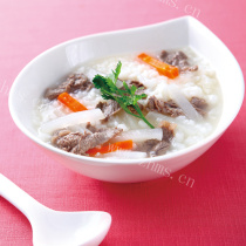 丸子萝卜粥