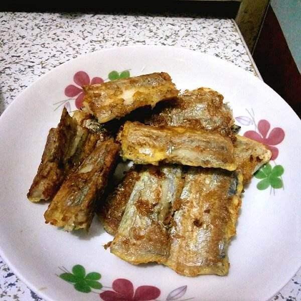 豆豉香酥带鱼
