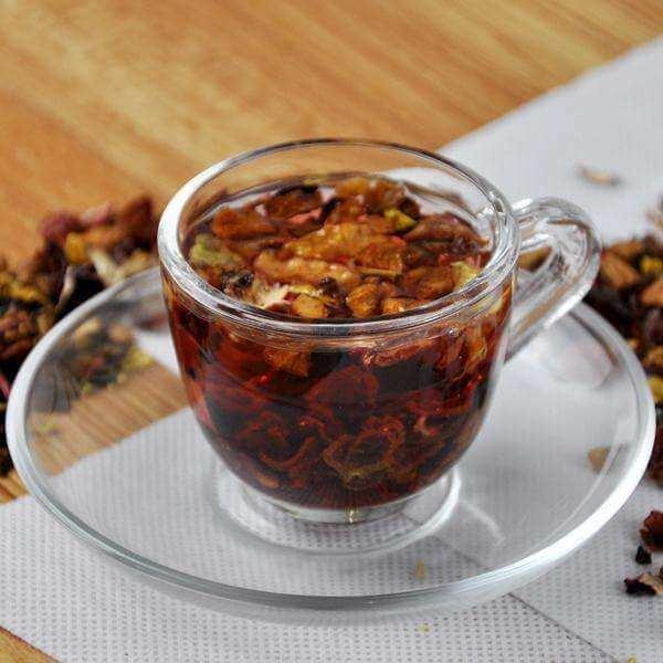 水果朗姆酒花果茶柚子