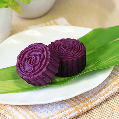紫薯红糖疙瘩羹