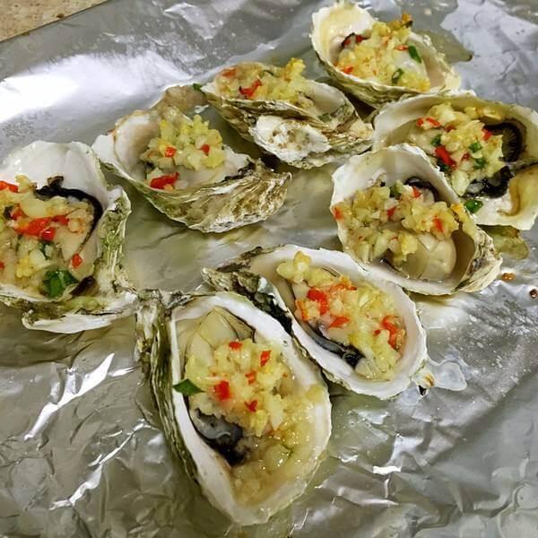 香烤海蛎子