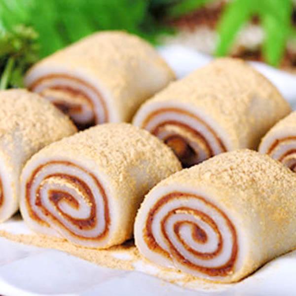 香甜可口美味的麻薯冰激凌