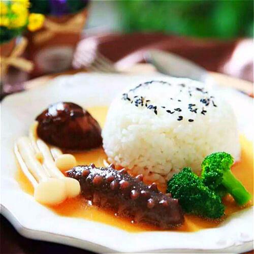 鲍汁海参扣米饭