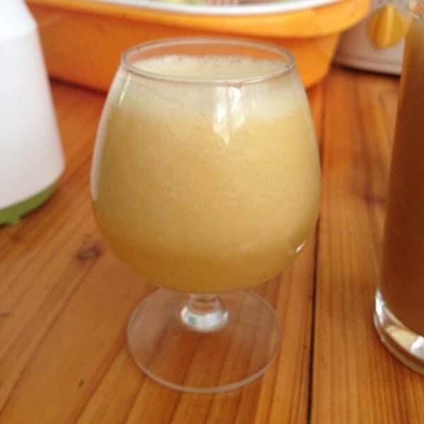 雪梨血橙汁