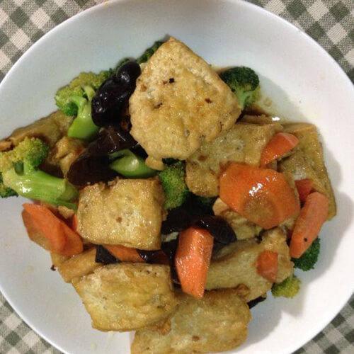 豆泡炒食蔬