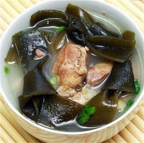 好喝的海带排骨汤的做法