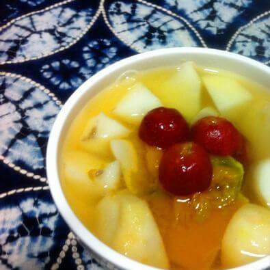 外婆教我做山药芋头南瓜汤