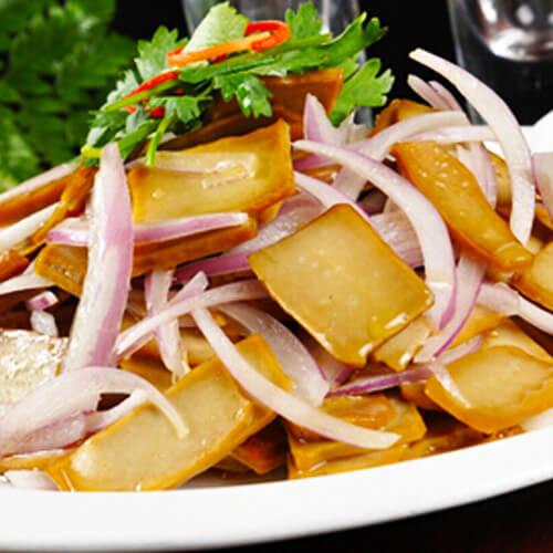 芹菜洋葱炒豆腐
