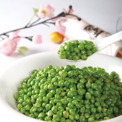 麻辣肠炒甜豆